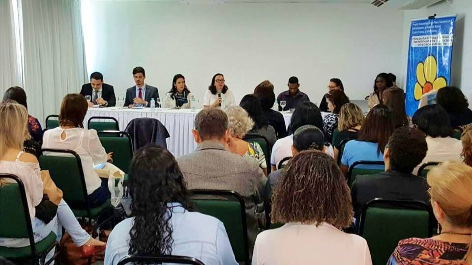 Núcleo da Infância integra Seminário sobre Plano Nacional de Enfrentamento à Violência Sexual