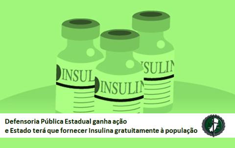 Defensoria ganha ação e Estado terá que fornecer Insulina gratuitamente à população
