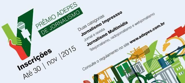 Inscrições abertas para o 1º Prêmio de Jornalismo da Associação dos Defensores Públicos do ES