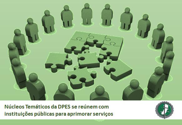 Defensoria promove encontros entre instituições públicas para aprimorar serviços