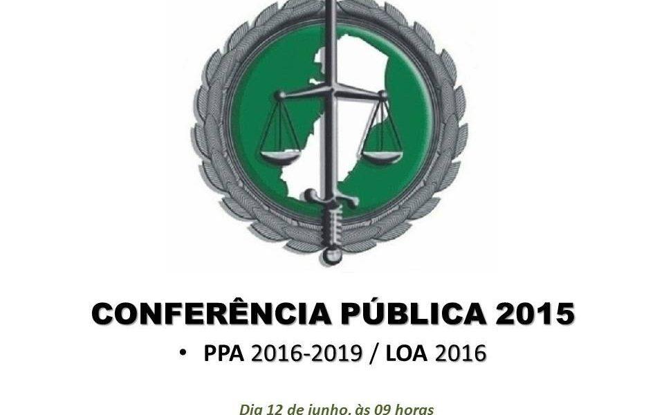 Conferência Pública: Defensoria convida entidades civis para elaboração do PPA nesta sexta (12)